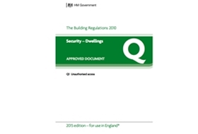 How to comply with Approved Document Q