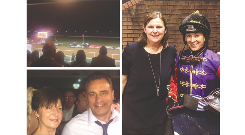 Glazerite's annual Race Night raises smiles for charity