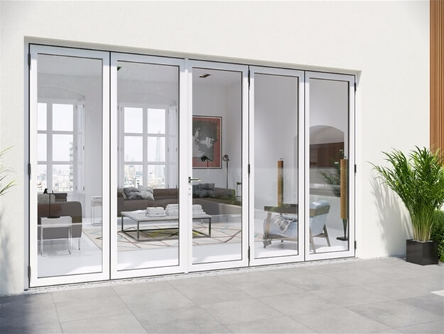 Warmcore Aluminium Bi-Folding Doors