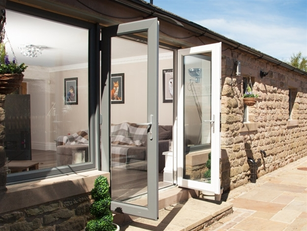 Upvc double doors trade glazerite for Upvc french doors inward opening
