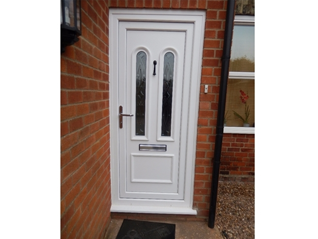 Flood UPVC Door