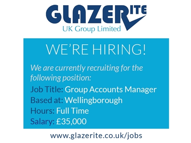 Group Accounts Manager - Wellingborough