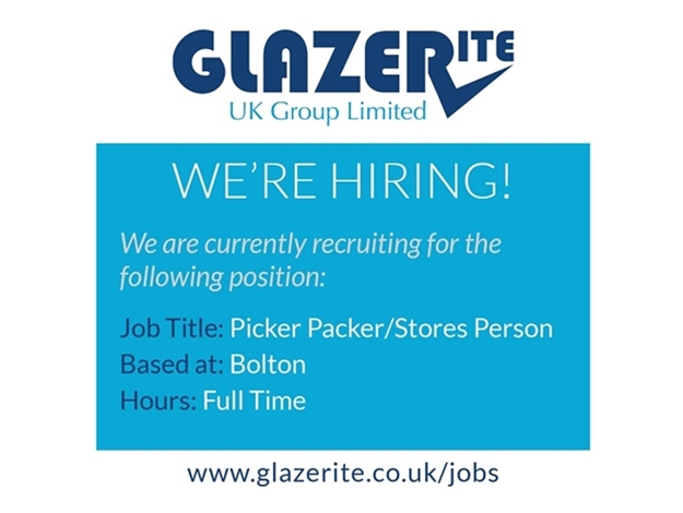 Picker Packer/Stores Person - Bolton