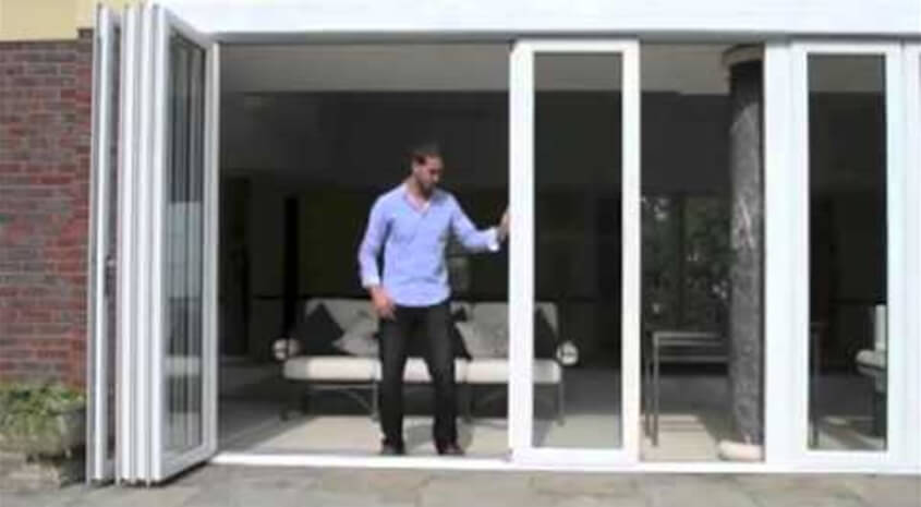 New Wave Bi-Fold Door will maximise the light in your home